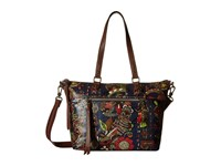 Sakroots Artist Circle City Satchel Midnight Spirit Desert Satchel Handbags Multi