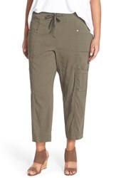 Plus Size Women's Eileen Fisher Crop Cargo Pants