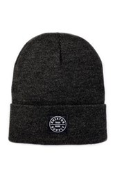 Brixton Oath Watch Cap Beanie Black