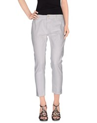 People Denim Denim Trousers Women White