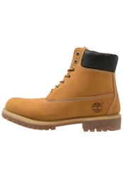 Timberland Laceup Boots Wheat Camel