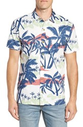 Kahala Shady Day Trim Fit Sport Shirt White