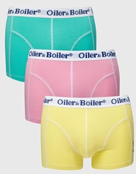 Oiler And Boiler 3 Pack Trunks Multi