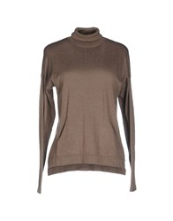 Snobby Sheep Knitwear Turtlenecks Women Khaki