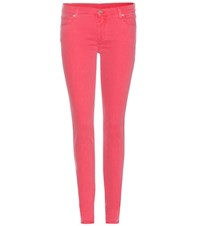 7 For All Mankind The Skinny Jeans Pink
