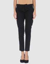 Couture Du Cuir Casual Pants Dark Blue