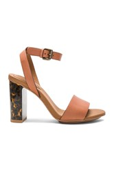 See By Chloe Cheetah Heel Brown