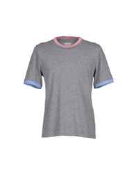Band Of Outsiders T Shirts Grey