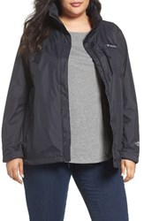 Columbia Plus Size Women's Pouration Waterproof Jacket