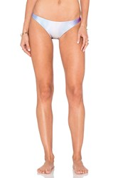 Wildfox Couture Fiary Hologram Reversible Bikini Bottom Blue