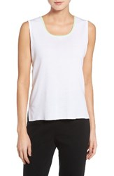 Ming Wang Women's Want Tipped Knit Tank