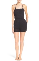 Leith Women's Strapless Cover Up Romper
