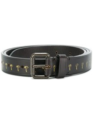 Tomas Maier Palm Belt Calf Leather Brown