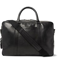 Shinola Leather Briefcase Black