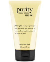 Philosophy Purity Made Simple Deep Clean Mask