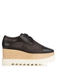 Stella Mccartney Elyse Lace Up Platform Shoes Black