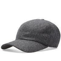 Officine Generale Flannel Cap Grey