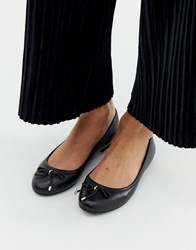 7e69ad81a86 Aldo Leather Ballet Flats In Black
