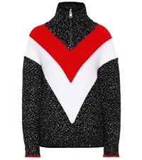 Givenchy Wool And Cotton Blend Sweater Multicoloured