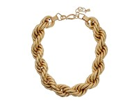 Robert Lee Morris Rope Chain Necklace Gold Necklace