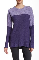 Cullen Marled Colorblock Cashmere Tunic Sweater Multi