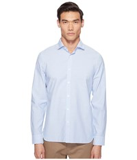 Jack Spade Chambray Spread Collar Shirt Pale Blue Men's Clothing