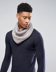 Asos Snood In Grey Grey