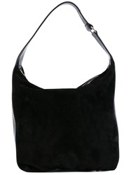 Lanvin Chaine Hobo Bag Women Cotton Calf Leather One Size Black