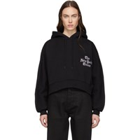 Etudes Studio Black The New York Times Edition Hoodie