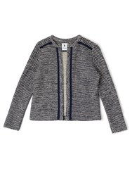 Dash Boucle Jacket Blue