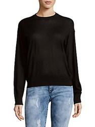 Zadig And Voltaire Kansy Silk Blend Top Noir