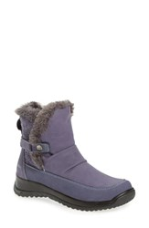 Jambu Women's 'Sycamore' Water Resistant Boot Denim Blue Leather