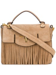 Polo Ralph Lauren Small Shoulder Bag Nude And Neutrals
