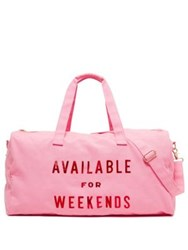 Ban.Do Available For Weekends Getaway Duffel Bag No Color