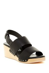 Matt Bernson Aylin Wedge Sandal Black