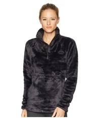 The North Face Osito Sport Hybrid 1 4 Zip Weathered Black Fleece