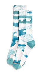 Stance Frankly Crew Socks Teal