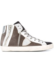 Philippe Model 'Bike' Hi Top Sneakers Grey