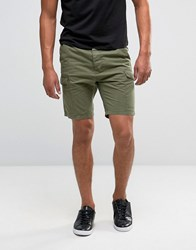 Threadbare Smart Cargo Short Green