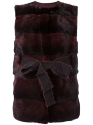 P.A.R.O.S.H. 'Quink' Gilet Red