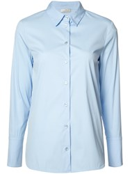 Maison Ullens Long Sleeve Shirt Blue