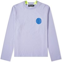 Olaf Hussein Long Sleeve Subsonic Tee Purple
