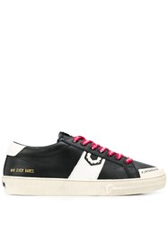 Moa Master Of Arts Playground Distressed Sneakers Black