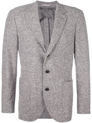 Brunello Cucinelli Herringbone Blazer Nude And Neutrals