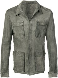 Salvatore Santoro Multi Pocket Jacket Green