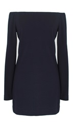 Tibi Crepe Off The Shoulder Tunic