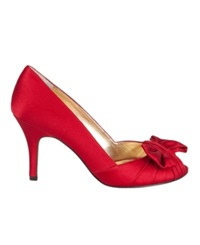 Nina Forbes Evening Pumps Women's Shoes Red