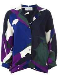 Gianfranco Ferre Vintage Leaf Print Shirt Multicolour