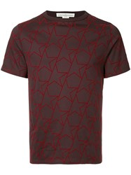 Golden Goose Deluxe Brand Star Print T Shirt Red