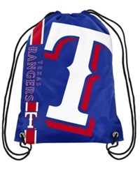 Forever Collectibles Texas Rangers Big Logo Drawstring Bag